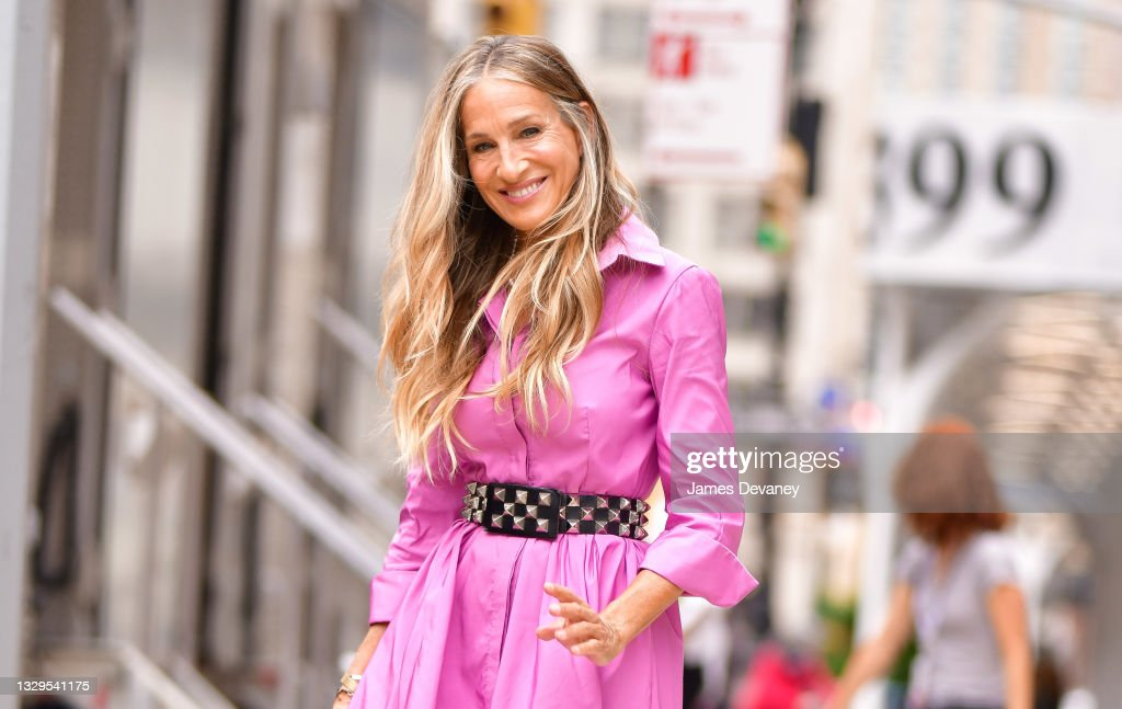 Celebrity Sightings In New York City - July 19, 2021 : News Photo