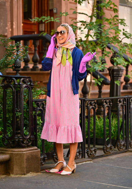NY: Celebrity Sightings In New York City - October 20, 2021