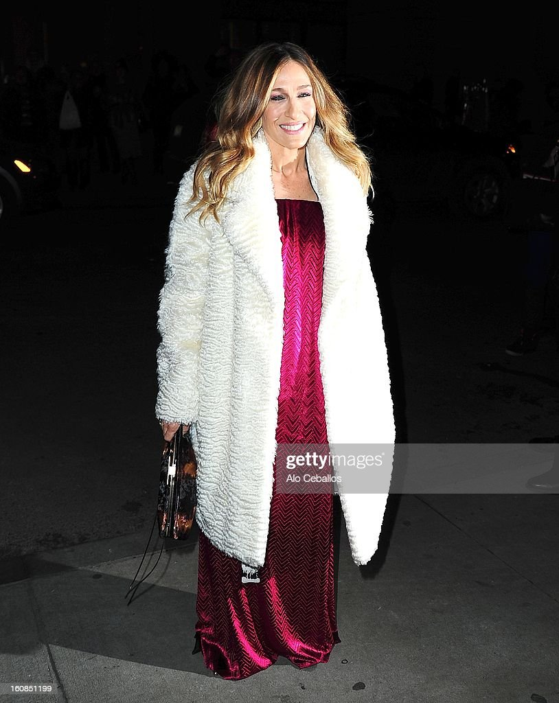 Sarah Jessica Parker sighting on February 6, 2013 in New York City.