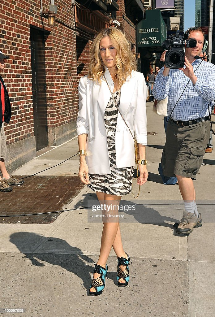 "Celebrity Visit ""Late Show With David Letterman"" - May 25, 2010"