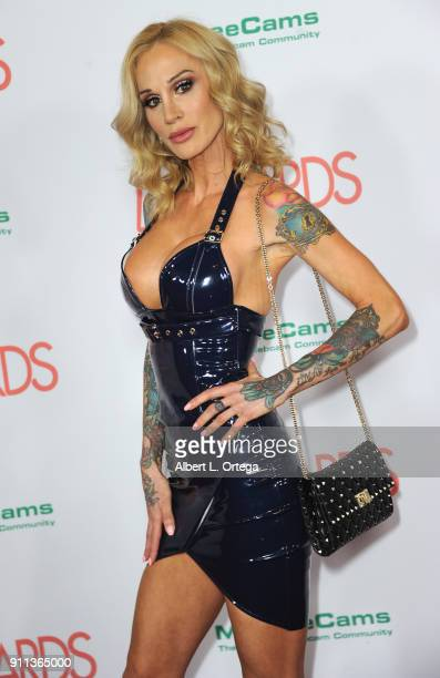 Sarah Jessie attends the 2018 Adult Video News Awards held at Hard Rock Hotel Casino on January 27 2018 in Las Vegas Nevada