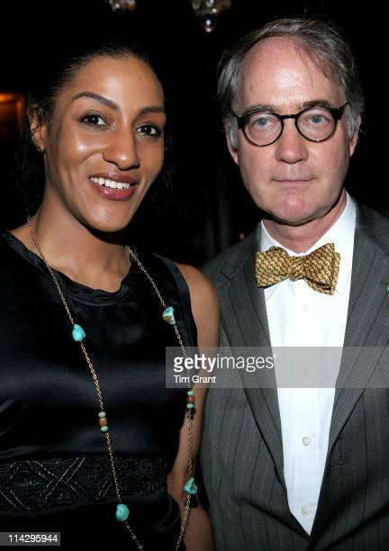 Sarah Jones and Alden James during The National Arts Club Honors Lachanze and Tony Winner Sarah Jones at The National Arts Club in New York New York...