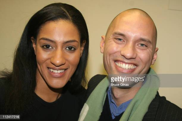 Sarah Jones and Andrae Gonzalo of Project Runway 2 *Exclusive Coverage*