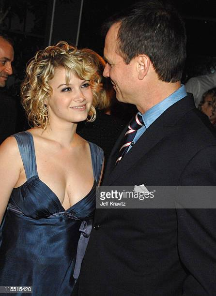 Sarah Jones and Bill Paxton during Big Love Season Two Premiere After Party at Boulevard 3 in Hollywood California United States