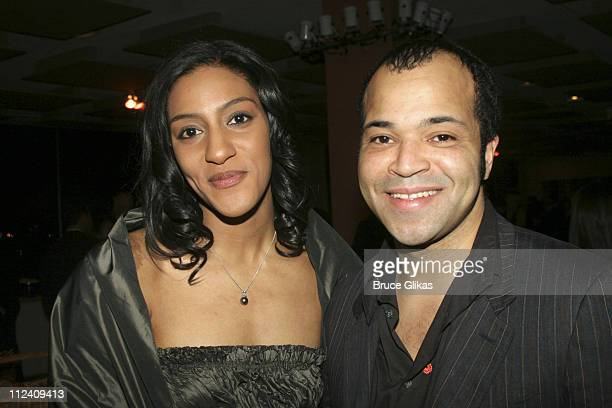 Sarah Jones and Jeffrey Wright