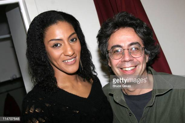Sarah Jones and Tony Taccone director *Exclusive Coverage*