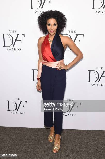 Sarah Jones attends the 2017 DVF Awards at United Nations Headquarters on April 6 2017 in New York City