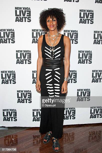 Sarah Jones attends the New York Live Arts 2016 Gala at the Museum of Jewish Heritage on March 24, 2016 in New York City.