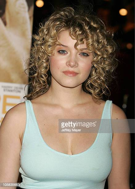 Sarah Jones during Big Love Los Angeles Premiere Arrivals at Grauman's Chinese Theatre in Hollywood California United States