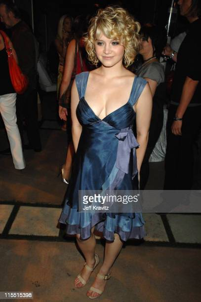 Sarah Jones during Big Love Season Two Premiere After Party at Boulevard 3 in Hollywood California United States