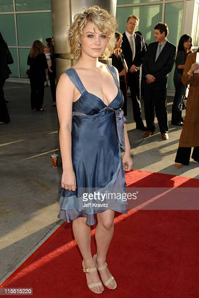 Sarah Jones during Big Love Season Two Premiere Red Carpet at Arclight Cinerama Dome in Hollywood California United States