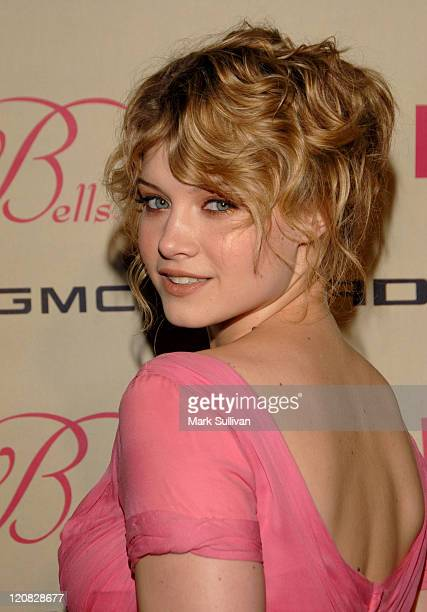 Sarah Jones during FOX's The Wedding Bells Premiere Party Arrivals at The Wilshire Ebell Theatre in Los Angeles California United States