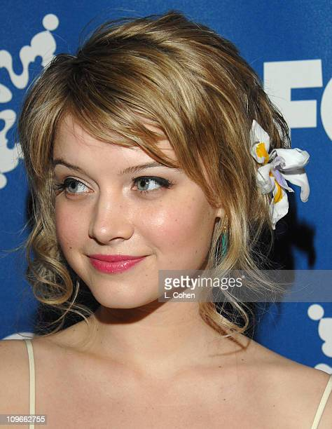 Sarah Jones during The Fox All-Star Winter 2007 TCA Press Tour Party - Red Carpet and Inside at Villa Sorriso in Pasadena, California, United States.