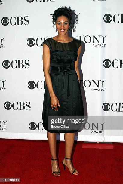 Sarah Jones winner of Special Tony during 60th Annual Tony Awards Arrivals at Radio City Music Hall in New York City New York United States