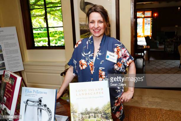 Sarah Kautz attends A Country House Gathering To Benefit Preservation Long Island on June 28 2019 in Locust Valley New York
