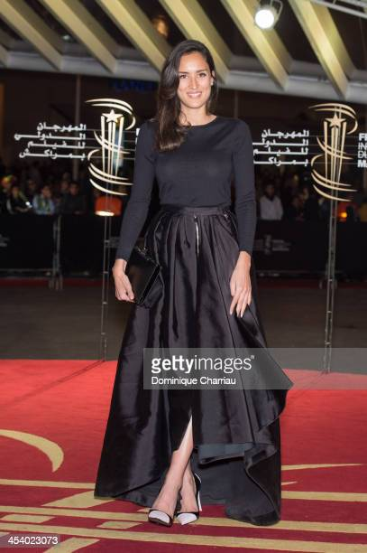 Sarah Kazemy attends the 'One Chance' Premiere during the13th Marrakech International Film Festival on December 6, 2013 in Marrakech, Morocco.
