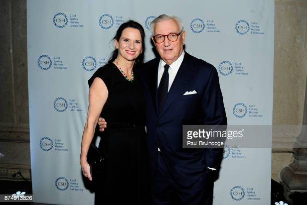 Sarah Kelleher and Roy Zuckerberg attend the Cold Spring Harbor Laboratory Double Helix Medals Dinner at the American Museum of Natural History...