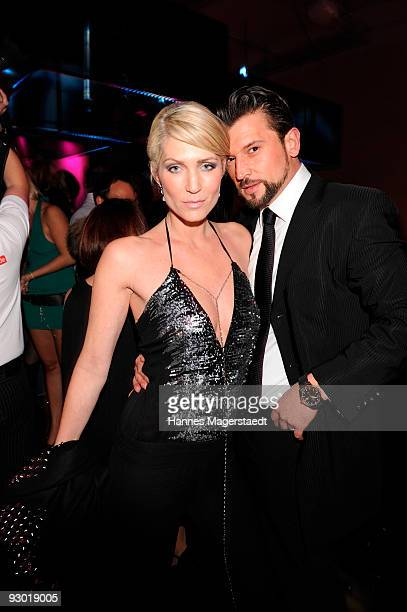 Sarah Kern and Goran Munizaba attend the 'Grand Opening' Party at the P1 on November 12 2009 in Munich Germany
