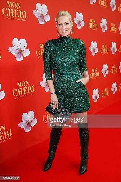 Sarah Kern attends the Mon Cheri Barbara Tag 2014 at Haus der Kunst on December 4 2014 in Munich Germany