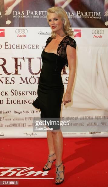 Sarah Kern attends the world premiere of the film 'Das Parfum' September 7 2006 in Munich Germany