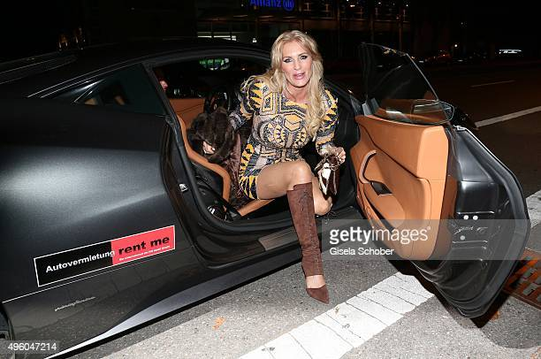 Sarah Kern during the opening of the night club Sam's on November 6 2015 in Munich Germany