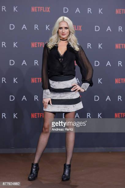 Sarah Knappik attends the premiere of the first German Netflix series 'Dark' at Zoo Palast on November 20 2017 in Berlin Germany