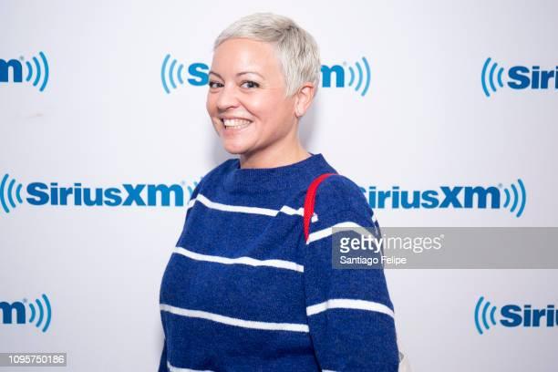 Sarah Knight visits SiriusXM Studios on January 17 2019 in New York City