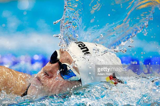 Sarah Kohler of Germany competes in the Women's 800m Freestyle heat on Day 6 of the Rio 2016 Olympic Games at the Olympic Aquatics Stadium on August...