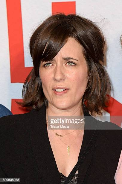 Sarah Kuttner attends the 'Maengelexemplar' German Premiere on May 09 2016 in Berlin Germany