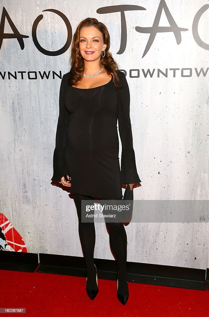 Sarah Lake attends TAO Downtown Grand Opening on September 28, 2013 in New York City.