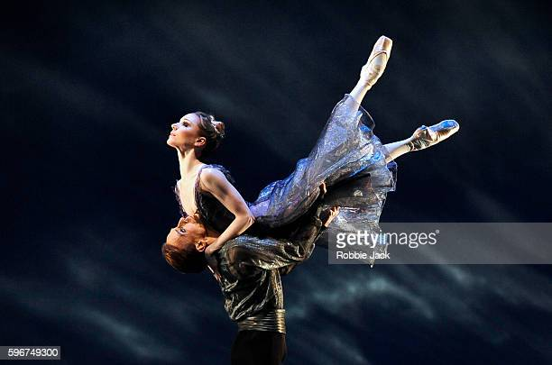 Sarah Lamb and Edward Watson in the Royal Ballet's production of Alexei Ratmansky's 24 Preludes at the Royal Opera House Covent Garden in London