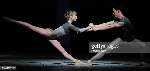 Sarah Lamb and Matthew Ball in the Royal Ballet's production of Wayne McGregor's Multiverse at The Royal Opera House Covent Garden on November 10...