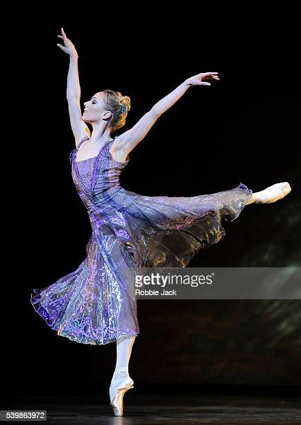 Sarah Lamb in the Royal Ballet's production of Alexei Ratmansky's 24 Preludes at the Royal Opera House Covent Garden in London