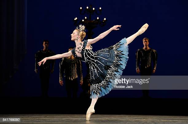 Sarah Lamb in the Royal Ballet's production of Frederick Ashton's Birthday Offering at the Royal Opera House Covent Garden in London