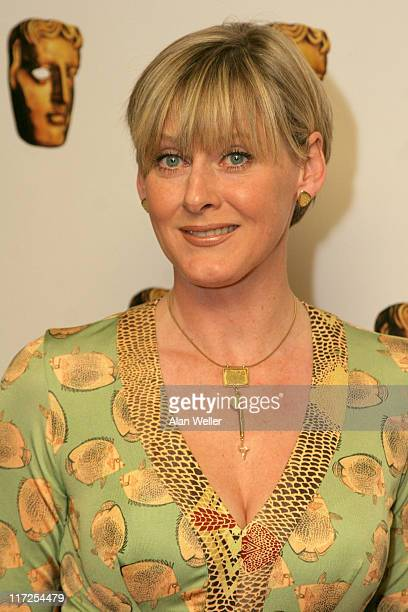 Sarah Lancashire during The British Academy TV Craft Awards Outside Arrivals at Dorchester Hotel in London Great Britain