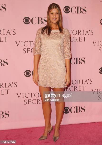 Sarah Lancaster during 11th Victoria's Secret Fashion Show Arrivals at Kodak Theatre in Hollywood California United States