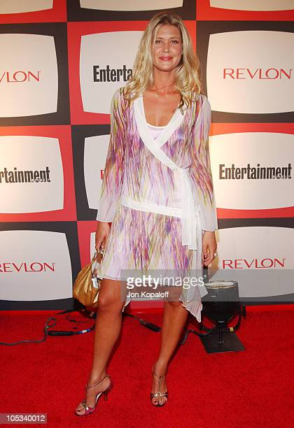 Sarah Lancaster during 2nd Annual Entertainment Weekly PreEmmy Party at The Hollywood Athletic Club in Hollywood California United States