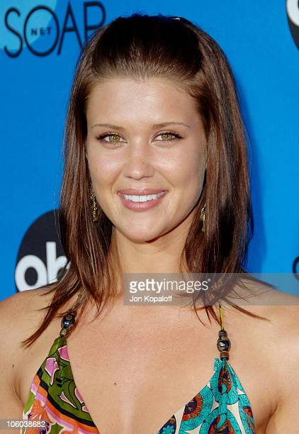Sarah Lancaster during ABC All Star Party 2006 Arrivals at Rose Bowl in Pasadena California United States
