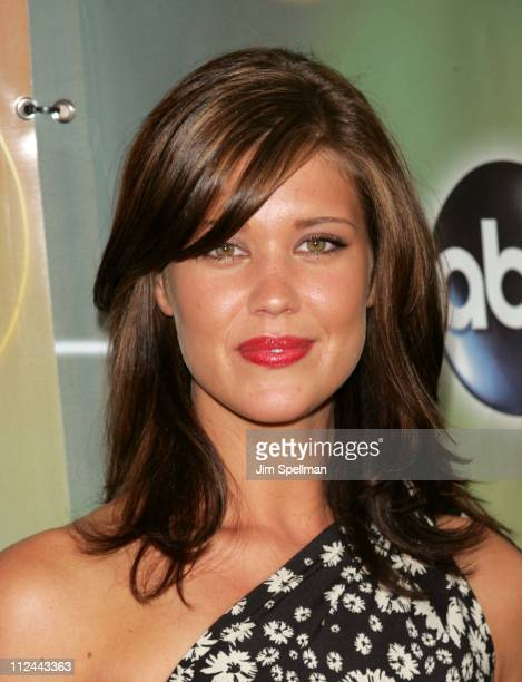 Sarah Lancaster during ABC Upfront 20062007 Arrivals at Lincoln Center in New York City New York United States