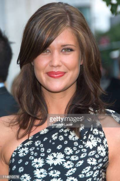 Sarah Lancaster during ABC Upfront 2006/2007 Arrivals at Lincoln Center in New York City New York United States