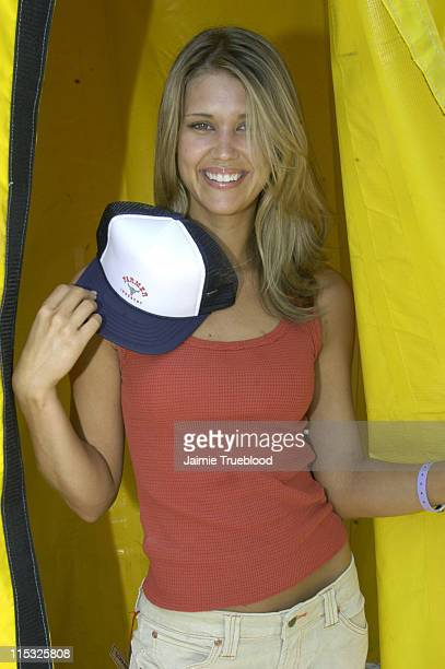 Sarah Lancaster during Cabana PreMTV Movie Awards Beauty Buffet Day Two at Private Residence in Hollywood California United States