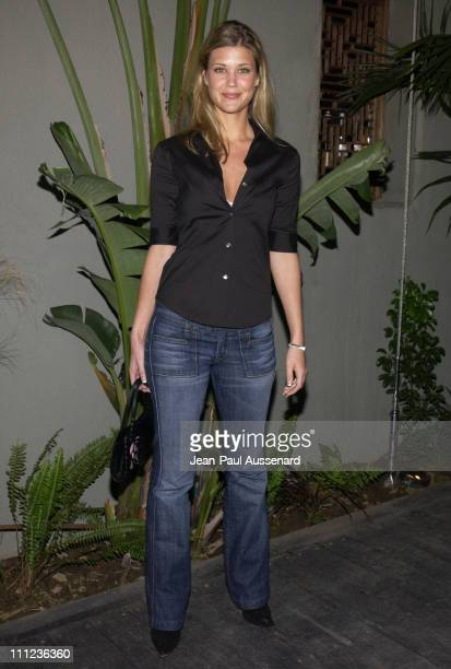 Sarah Lancaster during Eric Balfour and Band in Concert at the GQ Lounge at GQ Lounge at White Lotus in Hollywood California United States
