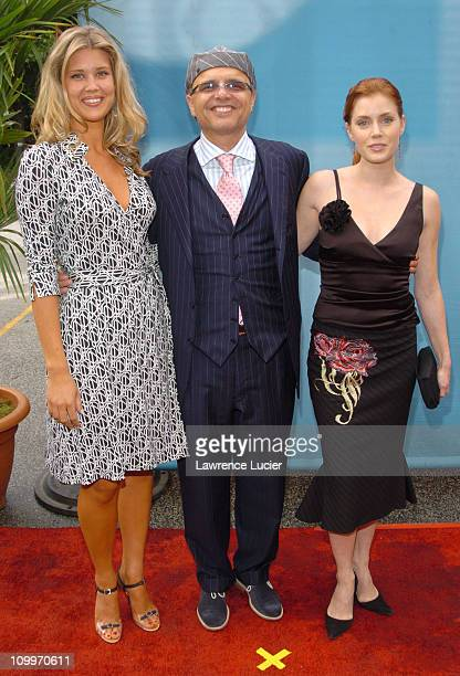 Sarah Lancaster Joe Pantoliano and Amy Adams during CBS Primetime 20042005 UpFront Party at Tavern on the Green in New York City New York United...