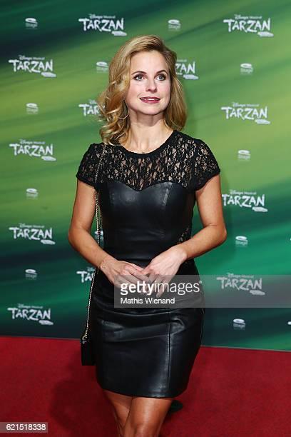 Sarah Latton attends 'Tarzan' Musical Premiere on November 6 2016 in Oberhausen Germany