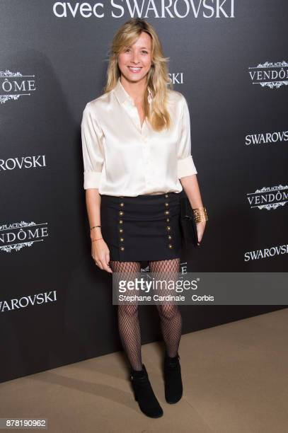 Sarah Lavoine attends the 'Vogue Fashion Festival' opening dinner at Hotel Potocki on November 23 2017 in Paris France