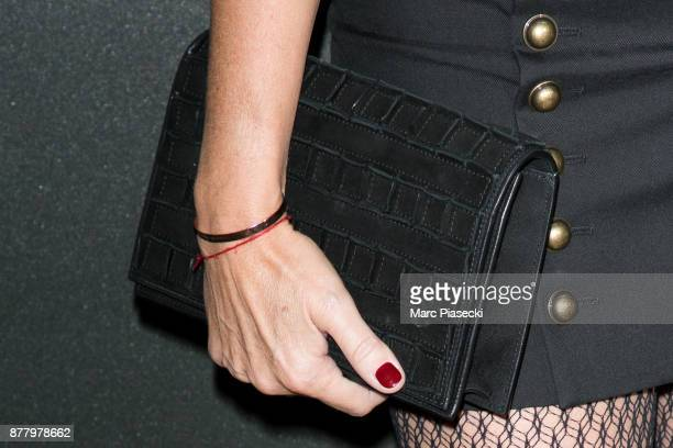 Sarah Lavoine clutch bag detail attends the 'Vogue Fashion Festival' opening dinner on November 23 2017 in Paris France