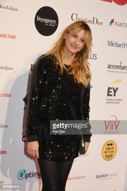 Sarah Lavoineattends Link Pour Aides Charity Dinner at Pavillon Cambon on December 11 2017 in Paris France
