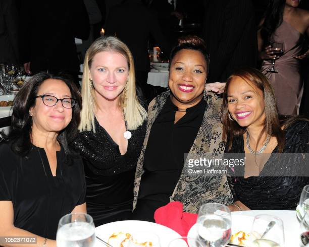 Sarah Lebow Kelli Shaughnessy Ameil Sloley and Yvonne Martinez attends the Children's Rights Gala on October 16 2018 in New York City