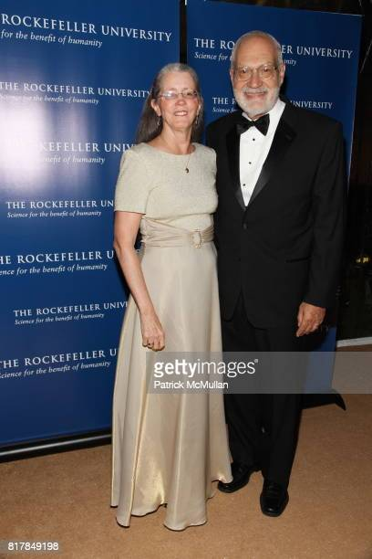 Sarah Leibowitz and Martin Leibowitz attend The Rockefeller University Hospital Centennial Celebration at The Rockefeller University on October 7...