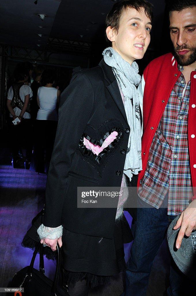 99bd30925d Sarah Lerfel of Colette s Shop and guest attend the Adidas SLVR Shop ...